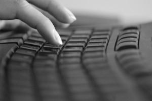 """cc-licensed photo """"Typing"""" by flickr user e y e / s e e"""