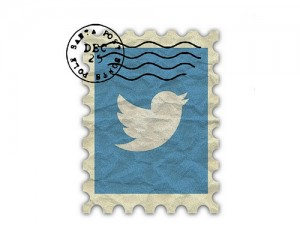"cc-licensed image ""Vintage Twitter Logo Stamp"" by flickr user TheThreeSisters"