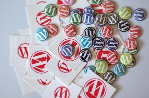 "CC-licensed image ""New WordPress Buttons and Stickers"" by flickr user Nikolay Bachiyski"